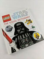 LEGO Star Wars: The Visual Dictionary.(2009)   Like new, includes minifig