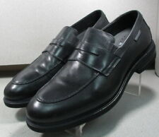 ORELIEN BLACK MMPF40 Mens Shoe Size 8.5 EUR 8 Leather Slip On Loafers Mephisto