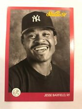 1991 Donruss Leaf Studio Jessie Barfield New York Yankees 91