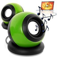Haut-Parleurs Speakers Bafs Enceintes filaire USB 2.0 Multimedia Music couleur v