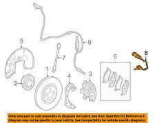 MERCEDES OEM 06-15 ML350 ABS Anti-Lock Brake-Sensor 1645401017