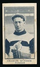 1912 C61 Imperial Tobacco LACROSSE SERIES #1 Charlie Querrie (Hockey-Toronto GM)