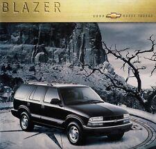 CHEVY CHEVROLET BLAZER LS LT TBZ Prospekt Brochure USA 2000 87