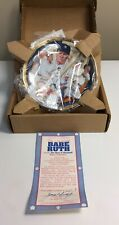 The Immortal Babe Ruth Plate By The Hamilton Collection # 3225F