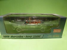SUN STAR 1:18 MERCEDES BENZ 220 SE - 1958 - RARE SELTEN - GOOD CONDITION IN BOX