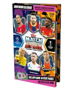 Topps Match Attax Champions League 2020/2021 Adventskalender inkl.120 Cards + LE