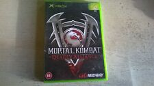 Mortal Kombat: Deadly Alliance-Xbox Spiel-Schnelle Post-ORIGINAL & KOMPLETT