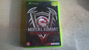 MORTAL KOMBAT : DEADLY ALLIANCE - XBOX GAME - FAST POST - ORIGINAL & COMPLETE