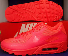 Nike Air Max 90 Hyperfuse Premium iD Solar Red SZ 8.5 !!! ( 653603-992 )