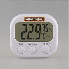 Digi Temp Termometro Digitale LCD STANZA OROLOGIO C/F NUOVO