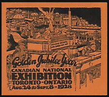 Canada 1928 Canadian National Exhibition, scarce type 2