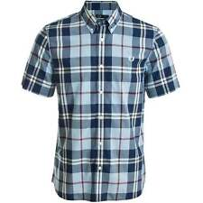 Fred Perry Men's Short Sleeve Button Down Casual Shirts & Tops