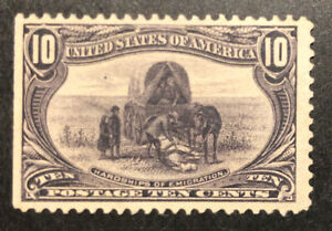 TDStamps: US Stamps Scott#290 Unused NG SE Spot Thin Lightly Crease