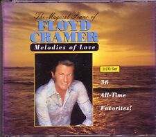 FLOYD CRAMER Magical Piano Melodies Love 3CD Classic Great LAST DATE HONEY Rare