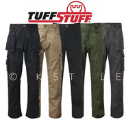 Tuff Stuff EXPERT Safety Work Trouser Protective  Multi Pocket Knee Pad 2 PAIRS