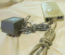 TELEPORT GOLD II PL510 FAX MODEM by GLOBAL VILLAGE with TRANSFORMER WORKING