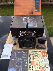 spektrum DX9 transmitter + AR9020 Receiver