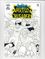 Archie Comics SuperTeens vs Crusaders #2 of 2 Sept 2018 Comic.#131824D*5