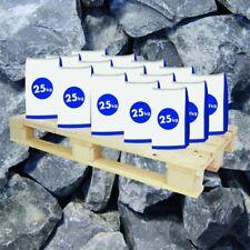 (0,35€/1kg) 20x25 kg Sack Gabionen Steine Basaltbruch anthrazit 40-70mm halbe Pa