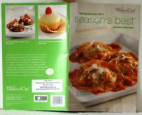 PAMPERED CHEF Season s Best SPRING SUMMER 2011 Recipe Collection NEW