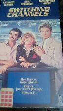Switching Channels 1987 VHS RIP Burt Reynolds Christopher Reeve Kathleen Turner