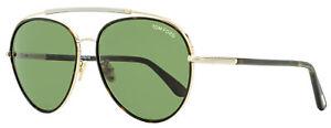Tom Ford Aviator Sunglasses TF748F Curtis 52N Gold/Dark Havana 62mm FT0748