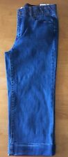 NWT Jaclyn Smith Collection Comfort Blue Crop Jeans - Size: 6