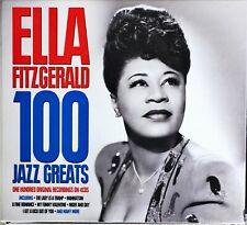 Ella Fitzgerald 100 Jazz Greats (2018 Not Now Music)