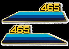 1981 Suzuki RM 465 Side Panel Decals Non USA Version