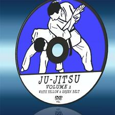 JU-JITSU ULTIMATE TRAINING LESSONS DVD 1 WHITE YELLOW & GREEN BELT TUTORIAL NEW