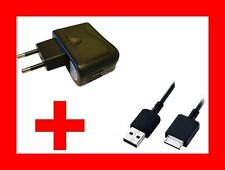 ★ CHARGEUR SECTEUR + CABLE USB 150 Cm Pour SONY WALKMAN NWZ- NWZ-610F /NW-S703F