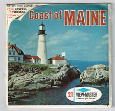 VIEW-MASTER - S6 A716 Coast of MAINE | Buy 3 or More For Free Shipping