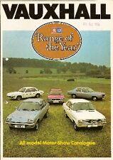 Vauxhall Chevette Viva Cavalier Magnum VX Motorshow 1976 UK Market Brochure