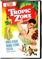 Tropic Zone 1953 DVD - Ronald Reagan, Rhonda Fleming