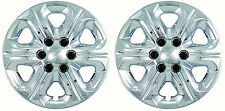 "(2) 2009 CHEVY TRAVERSE 17"" CHROME HUBCAPS WHEEL COVERS IWC454-17"""