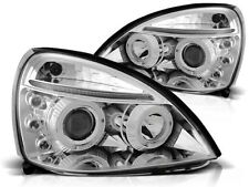 renault clio ii 2001 2002 2003 2004 2005 lpre13 headlights halo rims chrome