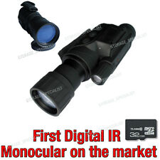 Monocular Night Vision Goggles Security Cameras IR Gen Tracker Video Camera