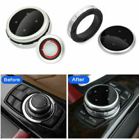 Multi-Media Control Knob Trim For BMW 1 2 3 4 5 6 7 X1 X3 X4 X5 X6 IDRIVE