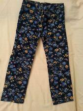 lotto 694 pantalone pantaloni bamba bambina fiori CYCLEBAND 5 anni
