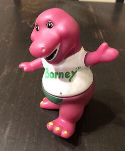 "Vintage Lyons Group Barney Dinosaur 5"" Figure vinyl plastic toy"