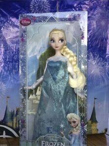 "Disney Frozen Elsa Doll 12"" Original Jointed Posable Disney Store Original New"
