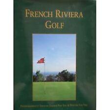 French Riviera Golf - English text  Dagmar Van Tiel hardback 1996 GOOD CONDITION