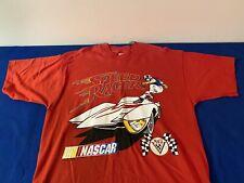 Vintage Nascar Speed Racer T-Shirt Size L Fruit of the Loom Tag USA NOS 1996