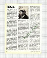9027) ENZO FERRARI - 1976 Article