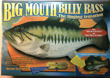 """Vintage Lot A Big Mouth Billy Bass / The Singing Sesation 1999 """". New In Box,"""