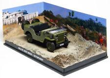 WILLYS JEEP 1:43 JAMES BOND Car Model Die Cast Metal Models Miniature Willys