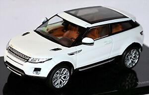 Land Rover Evoque Coupé L538 Crossover-Suv 2011 Blanc Fuji Blanc 1:43 Ixo