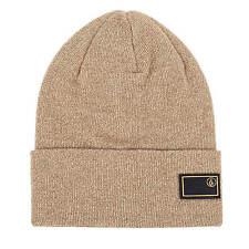 Volcom Contrast Wintermütze Beanie burnt khaki brown für Herren
