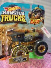 Monster Trucks LOCO PUNK 15/50 black/gold Connect and Crash 2019 Hot Wheels