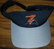 Salem-Keizer Oregon Volcanoes Minor League Baseball Black Cap Hat coaches visor